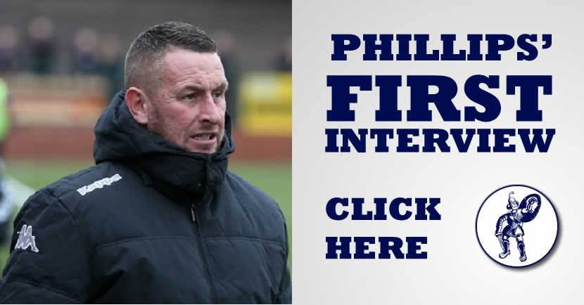 Paul Phillips first interview as Matlock Town manager