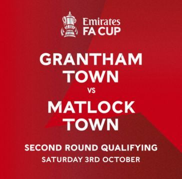 Gladiators face trip to league rivals Grantham Town in Emirates FA Cup 2QR