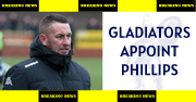 Gladiators appoint Paul Phillips to managerial role