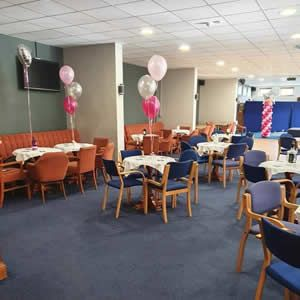 View The Shorts Lounge at Matlock Town FC is a great function room for parties!