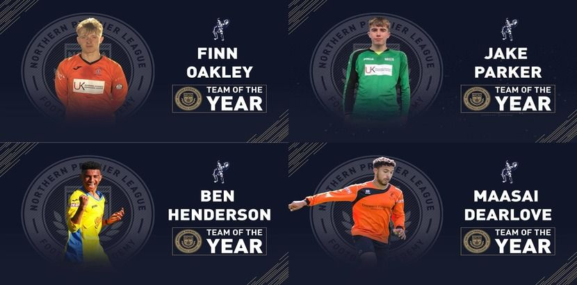 Four Young Gladiators in Team Of Year