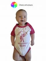 Browse Baby Baseball Body Suit - Short Sleeved