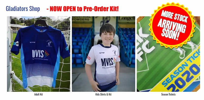 Matlock Town FC Online Store is Now Open!!